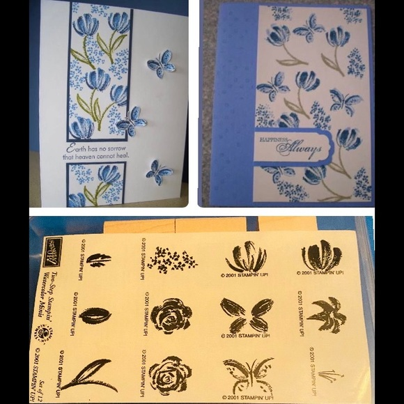 New Stampin Up 12pc Nature Theme Stamps